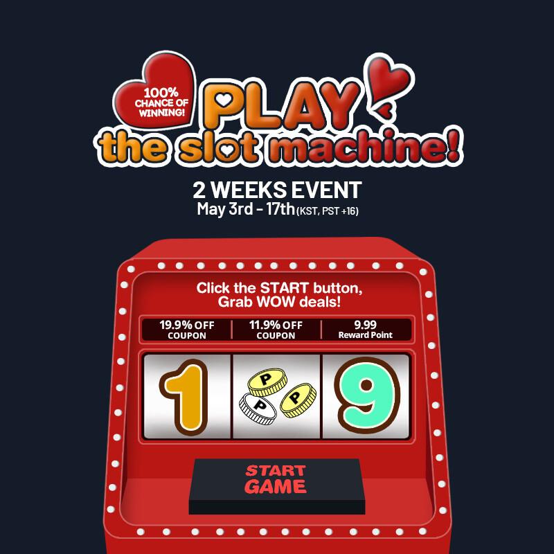 Slot Machine event_open event