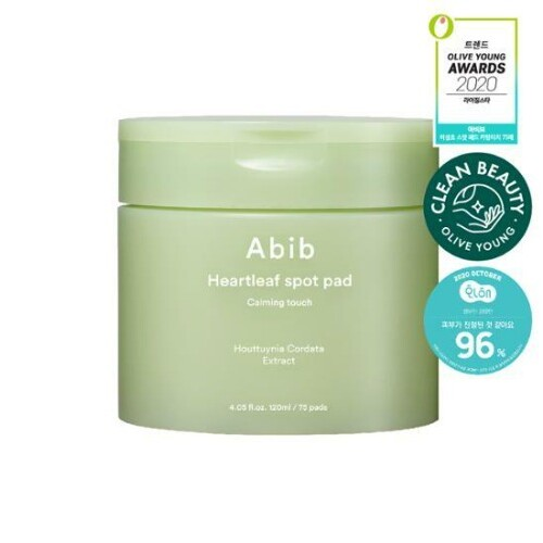 Abib Heartleaf Spot Pad Calming Touch 75 Sheets