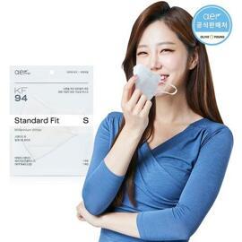 Aer KF94 Mask (Size S) 1 Sheet #White