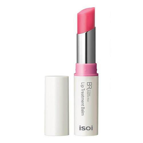 ★K-idol's item★isoi Bulgarian Rose Lip Treatment Balm 5g #Baby Pink
