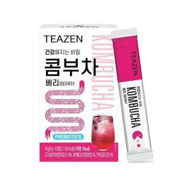 ★BTS JungKook's Kombucha★ Teazen Kombucha Berry 10 Sticks