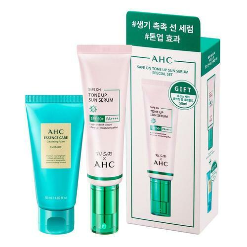 AHC Safe On Tone Up Sun Serum 50ml Special Set
