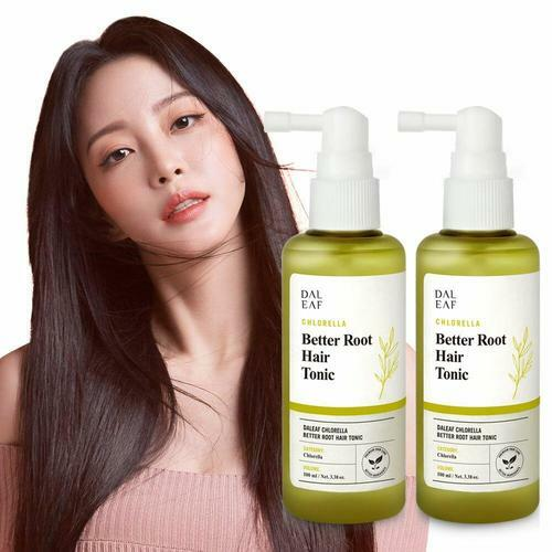 Daleaf Chlorella Better Root Hair Tonic 100ml x 2-Pack