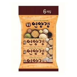 Lotte 7 Grains Sweet Red Bean Jelly 6-Pack