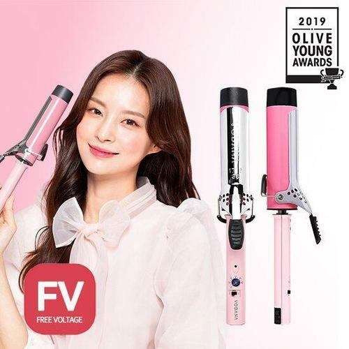 VODANA Glam Wave Curling Iron FV 40mm (Pink)