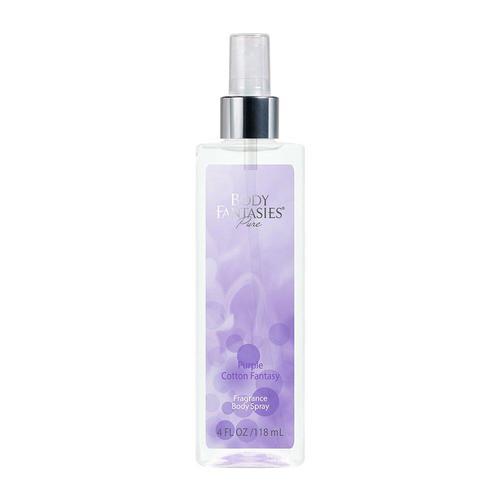 Body Fantasies Pure Fragrance Body Spray 118ml #Purple Cotton Fantasy