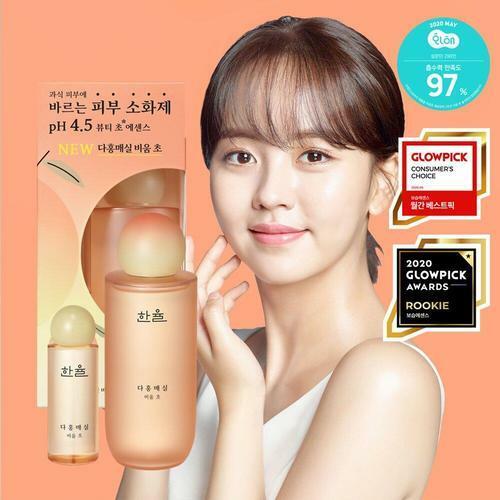 Hanyul Pink Plum Vinegar Resetting Essence 180ml Special Set