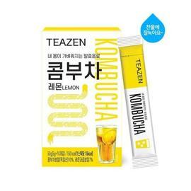 Teazen Kombucha Lemon 10 Sticks