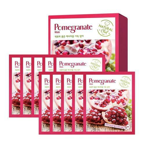 Charmzone Chef Pomegranate Mask 10 Sheets