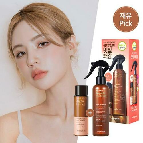 Healing Bird Ultra Protein No Wash Ampoule Treatment 200ml Special Set★Only OLIVE YOUNG★