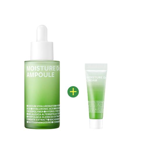 ISOI Moisture Dr. Ampoule 40mL+ Moisure Dr. Cream 15mL Limited Special Set