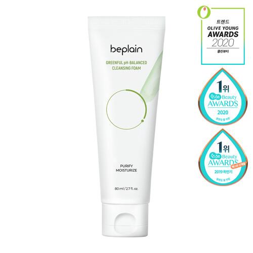 BE PLAIN Greenful PH-Balanced Cleansing Foam