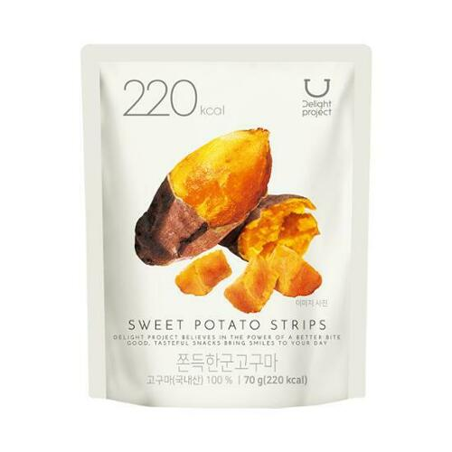 H Project Sweet Potato Strips 70g