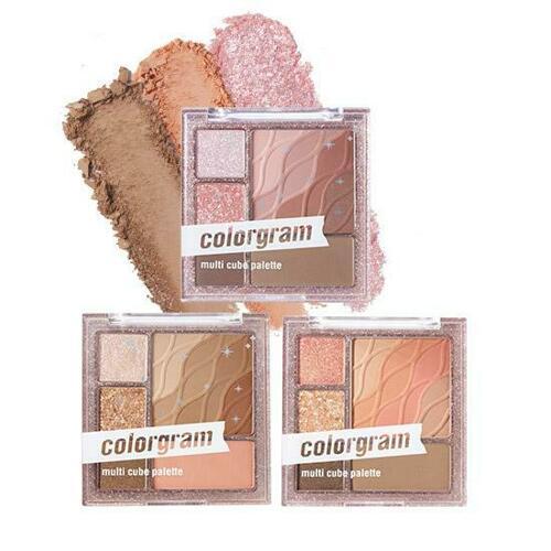 colorgram Multi Cube Palette 5 Colors